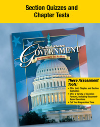 United States Government: Democracy in Action, Quizzes and Tests