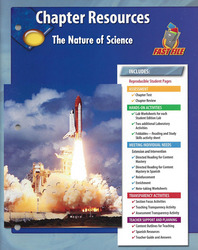Glencoe Physical iScience, Grade 8, Chapter Fast File: The Nature of iScience