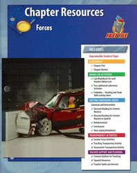 Glencoe Physical iScience, Grade 8, Chapter Fast File: Forces