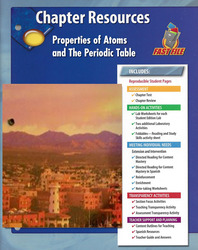 Glencoe Physical iScience, Grade 8, Chapter Fast File: Properties of Atoms and the Periodic Table