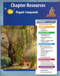 Glencoe Physical iScience, Grade 8, Chapter Fast File: Organic Compounds