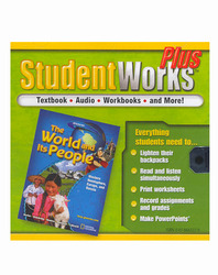 The World and Its People: Western Hemisphere, Europe, and Russia, StudentWorks Plus CD-ROM