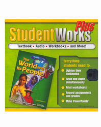The World and Its People, StudentWorks Plus CD-ROM