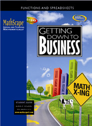 MathScape: Seeing and Thinking Mathematically, Course 2, Getting Down to Business, Student Guide