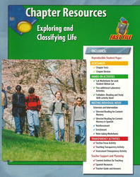 Glencoe Life iScience, Grade 7, Chapter Fast Files: Exploring and Classifying Life