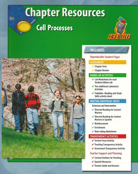 Glencoe Life Science Modules: Life's Structure and Function, Grade 7, Chapter Fast Files: Cell Processes