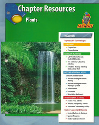 Glencoe Life iScience, Grade 7, Chapter Fast Files: Plants