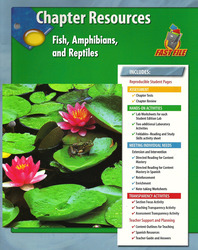 Glencoe Life iScience, Fish, Amphibians, and Reptiles Chapter Fast Files