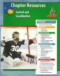Glencoe Life iScience Module: Human Body Systems, Grade 7, Chapter Fast File: Control and Coordination