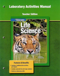 Glencoe Life iScience, Grade 7, Laboratory Activities Manual, TE