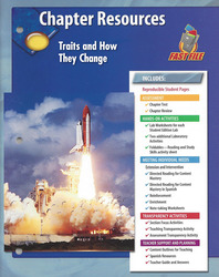 Glencoe iScience, Level Blue, Grade 8, Chapter Fast Files: Traits and How They Change