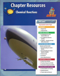 Glencoe Physical Science Module: The Nature of Matter, Grade 8, Chapter Fast File: Chemical Reactions