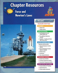 Glencoe Physical Science Modules, Grade 8, Chapter Fast File: Force and Newton's Laws