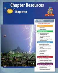 Glencoe Physical Science Modules, Grade 8, Chapter Fast File: Magnetism