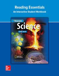 Glencoe iScience, Level Blue, Grade 8, Reading Essentials, Student Edition