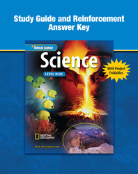 Glencoe Physical iScience, Grade 8, Study Guide and Reinforcement, Answer Key