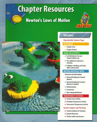 Glencoe iScience, Level Green, Grade 7, Chapter Fast Files: Newton's Laws of Motion
