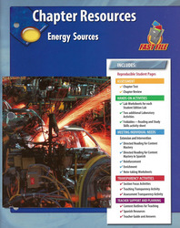 Glencoe Physical Science Module: Chemistry, Grade 8, Chapter Fast File: Energy