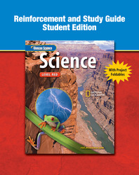 Glencoe iScience, Level Red, Grade 6, Reinforcement and Study Guide, Student Edition