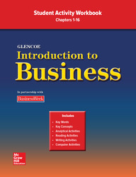 Introduction To Business, Chapters 1-16, Student Activity Workbook