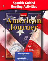The American Journey, Reconstruction to the Present, Spanish Resources, Spanish Guided Reading Activities