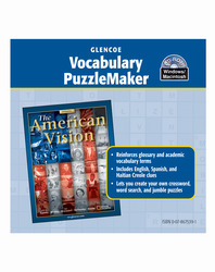 American Vision, Vocabulary PuzzleMaker CD-ROM
