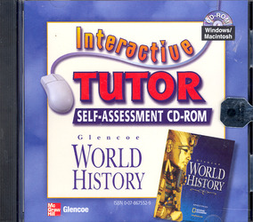 Glencoe World History, Interactive Tutor: Self-Assessment Software CD-ROM