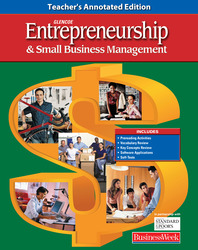 Entrepreneurship and Small Business Management, Student Activity Workbook, Teacher Annotated Edition