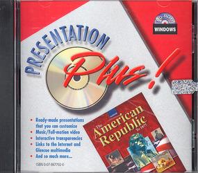 The American Republic to 1877, Presentation Plus CD-ROM Win