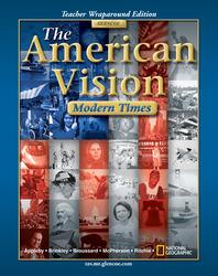 American Vision, Modern Times, Teacher Wraparound Edition