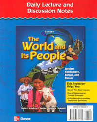 The World and Its People: Western Hemisphere, Europe, and Russia, Daily Lecture & Discussion Notes