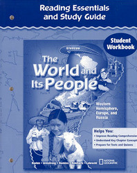 The World and Its People: Western Hemisphere, Europe, and Russia, Reading Essentials and Study Guide, Student Workbook