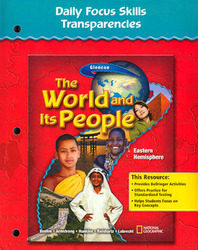 The World and Its People: Eastern Hemisphere, Daily Focus Skills Transparencies