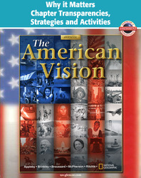 American Vision, Why it Matters Chapter Transparencies, Strategies and Activities