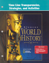 Glencoe World History, Time Line Transparencies, Strategies and Activities