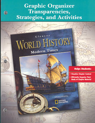Glencoe World History, Modern Times, Graphic Organizer Transparencies, Strategies and Activities