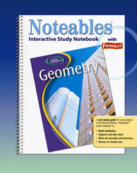 Glencoe Geometry, Noteables: Interactive Study Notebook with Foldables