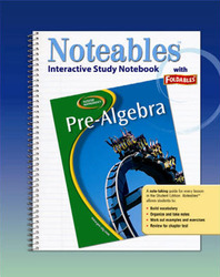Glencoe Pre-Algebra, Noteables: Interactive Study Notebook with Foldables