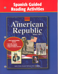 The American Republic Since 1877, Spanish Guided Reading Activities