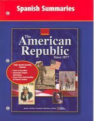 The American Republic Since 1877, Spanish Summaries