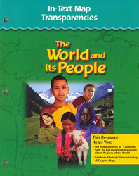 The World and Its People: Western Hemisphere, Europe, and Russia, In-Text Map Transparencies, Strategies, and Activities