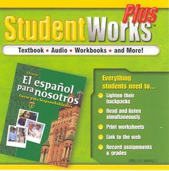 El español para nosotros: Curso para hispanohablantes Level 2, StudentWorks Plus CD-ROM