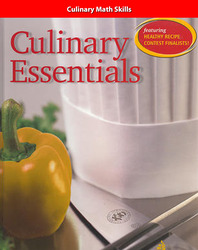 Culinary Essentials, Culinary Math Skills, Teacher Edition