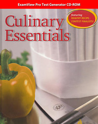 Culinary Essentials, ExamView CD-ROM