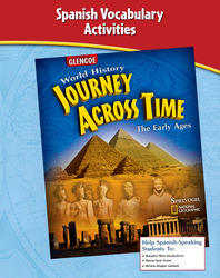 Journey Across Time, Early Ages, Spanish Vocabulary Activities