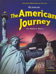 The American Journey To World War 1, Teacher Wraparound Edition