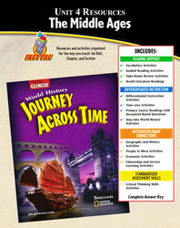 Journey Across Time, Unit Resources 4