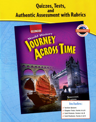 Journey Across Time, Quizzes, Tests and Assessments with rubrics