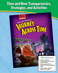Journey Across Time, Then and Now Transparencies, Strategies and Activities