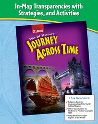 Journey Across Time, In-Text Map Transparencies, Strategies and Activities